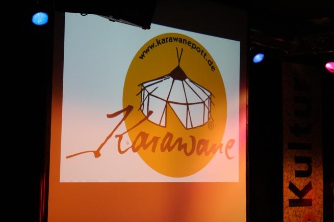 Das Logo der Karawane